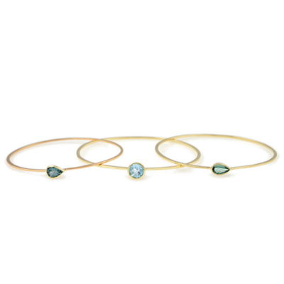 18ct yellow gold bangles
