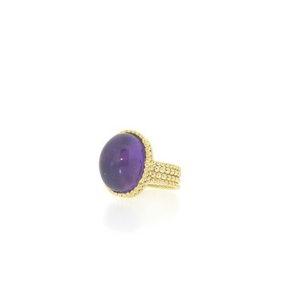 Amethyst gold filled