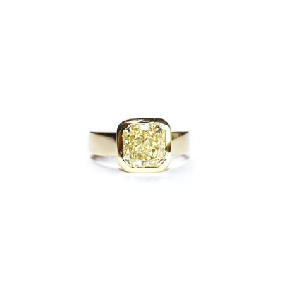 Yellow Diamond 3.16ct