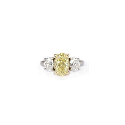 2.06ct Fancy Intense Yellow Diamond